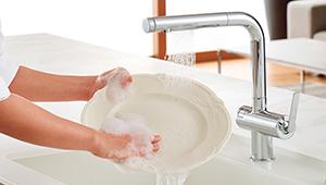2 2 - タッチスイッチ水ほうき水栓