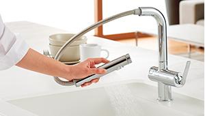 5 1 - タッチスイッチ水ほうき水栓