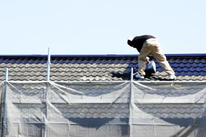 4 3 - 屋根の修理